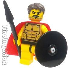 M004 Lego Warrior Spartan God Minifigure with Muscles & Ribs Outline Pattern NEW