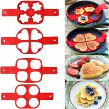 Pancake Maker Nonstick Cooking Tool Egg Cheese Ring Cooker Pan Flip Mold