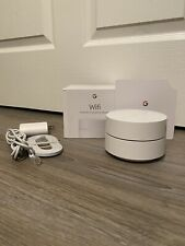 Google WiFi AC1200 Dual-band Mesh Wi-fi Router - White