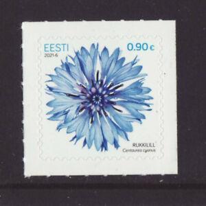Estonia 2021 MNH - Cornflower - Wild Flowers - set of 1 stamp