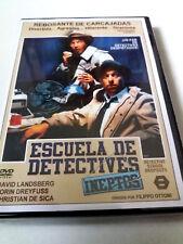 "DVD ""ESCUELA DE DETECTIVES INEPTOS"" COMO NUEVO CANNON FILIPPO OTTONI DAVID LANDS"