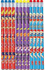 DC Super Hero Girls Pencils Birthday Decorations Party Favor Supplies 12ct