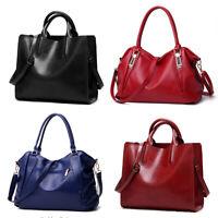 Women Designer Shoulder Bag Cross body Large Handbag Office Lady Bags PU Leather