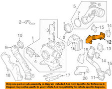GM OEM Turbocharger Turbo-Water Outlet Pipe Left 12650925