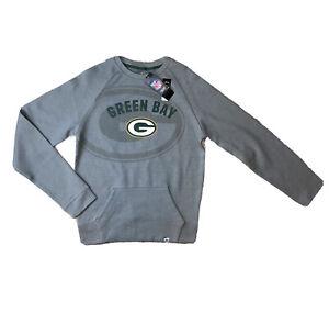 Majestic Green Bay Packers Men's Pullover Sweatshirt NFL Team Apparel Size S