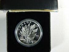 2019 - The Beloved Maple Leaf - $20 1 OZ Pure Silver Proof Coin - Canada