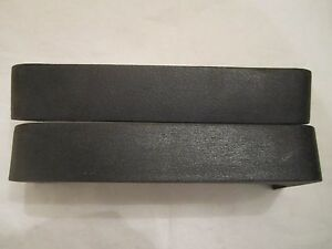 77-79 Oldsmobile Delta 88 98 Front Bumper Guard Strips NOS 556246 556247