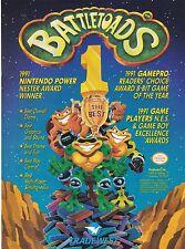 Original 1991 Tradewest Rare Battletoads video game print ad page