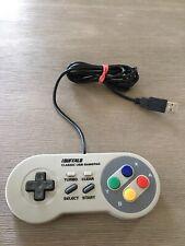 Buffalo Super Famicom SNES SFC Classic USB Gamepad for PC Windows