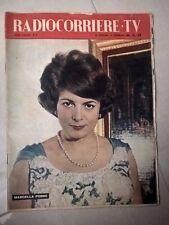 RIVISTA RADIOCORRIERE TV N.5 1960 MARCELLA POBBE RADIO TELEVISIONE