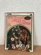 Stitch Yourself A Merry Little Christmas Cross Stitch Leaflet 907