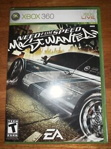 Need for Speed: Most Wanted Microsoft Xbox 360 2005 Complete Video Game Sealed!