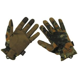 Professional Lightweight Tactical Military Gloves BW German Army Flectarn - New