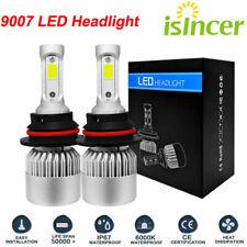 9007 HB5 LED Headlight Conversion Kit 1800W 270000LM HI-LO Dual Beam Bulbs 6000K
