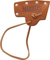Marbles Brown Leather Axe Blade Cover for Marbles No. 10 Axe