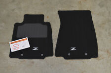 NEW Genuine OEM 2009-2017 Nissan 370Z BLACK Carpet Floor Mats 999E2-ZV000