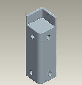 Ideal Standard LV862LJ Synergy C/E Corner Moulding