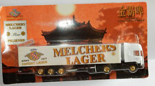 GRELL HO 1/87 CAMION SEMI TRUCK TRAILER SCANIA 420 MELCHERS LAGER BEER BIERE BOX