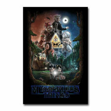 30x20 36x24 Silk Poster Gravity Falls Cartoon Movie Hot T-1229