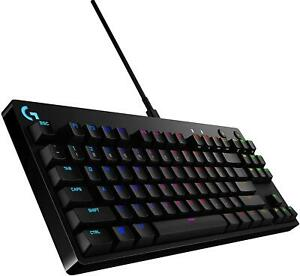 Logitech GX Blue Clicky 920-009388 G Pro Mechanical Gaming Keyboard Ligghtsync