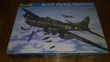 1990 Revell 1/48 Model Aircraft Kit 4701 - B-17F Flying Fortress, open unstarted