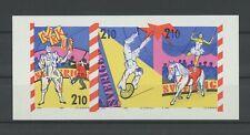 SCHWEDEN ESSAY 1987 CZ. SLANIA ZIRKUS PFERD CLOWN PROOF PRUEBA TEST PRINT m1730