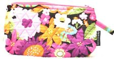 Abbergale's Small Cosmetic Pouch or Pencil Case Cotton Quilted