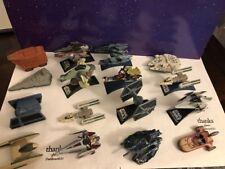 Star Wars Titanium Lot Of 16 X Wing Tie Fighter Skywalker
