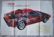 Ferrari 308 GTB Cutaway Drawing Poster