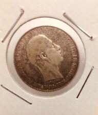 1draxmas Crete-greece 1901 Silver Coins