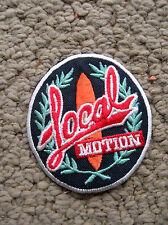 vintage local motion surfing surfer surfboard longboard jacket patch hawaii cool