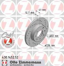 Zimmermann Disques De Frein Caravan 2,0 E 2,2 E Plaquette De Frein Avant OPEL RECORD E