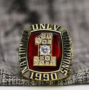 1990 UNLV REBELS National Basketball Championship ring Best Gift For Fans