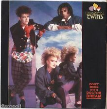 "THOMPSON TWINS - Don't mess with - VINYL 7"" 45 LP ITALY 1985 NEAR  MINT /VG+"