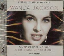 Wanda Jackson - You Can't Have My Love / In the Middle of a Heart  62 SONGS  NEW