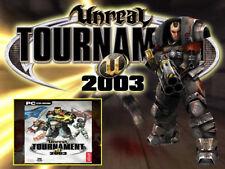 Unreal Tournament 2003 Deutsche Version der SHOOTER PC in DVD Hülle
