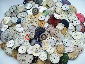 Watch Faces Watch Parts Vintage Watch Dials 113 pc. Steampunk Craft