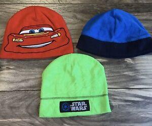 Boys Winter Hat / Toboggan Lot - Disney Cars, Star Wars, Children's Place - Kids