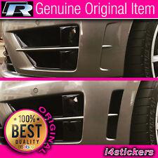 Golf MK7 R Pare-vent Insert autocollant (GLOSS BLACK VINYL) véritable objet