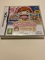 🤩jeu neuf blister officiel fr nintendo ds cooking mama world combo pack vol 1