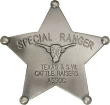 New Badges Of The Old West Special Ranger Badge MI3025