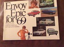 1969 Envoy Epic Sales Brochure