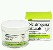 Neutrogena Naturals Multi-Vitamin Nourishing Night Cream 1.7 oz