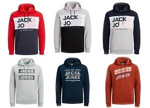 Jack & Jones Herren Hoodie Pulli Sweatshirt Kapuzenpullover | Gr. S-XXL