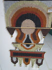 THE BOMBAY STORE WALL TAPESTRY HANGING NEW WITH BELLS BROWN ORIG