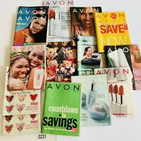 2001  Avon Catalog Campaign Books Lot of 14
