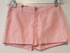 NWT Tommy Jeans Cotton Shorts Size 5 Pink Junior