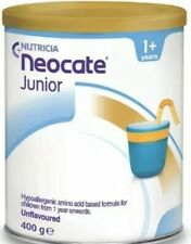 4 Cans  Nutricia Junior , Unflavoured , 14.1 oz / 400 g , July/2021
