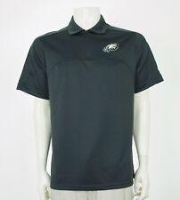 Nike Dri-Fit Philadelphia Eagles NFL Dark Gray Polo Shirt Mens Small