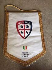 Gagliardetto Cagliari Calcio pennants originale match worn